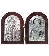 Иисус Христос и Николай Чудотворец