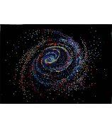 Сверкающая галактика