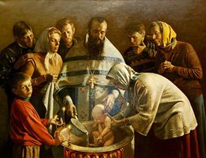 Именные иконы в подарок на крещение