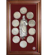 Панно «Медали на княжение Великого князя Владимира»