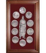 Панно «Медали на княжение Великого князя Игоря»