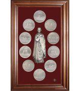 Панно «Медали на княжение Великой княгини Ольги»
