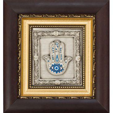Посеребренная картина «Рука Фатимы»