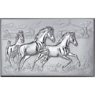 Подарочная картина «Кони»