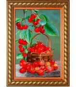 Картина «Корзинка с вишней»