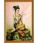 Картина «Богиня Фея лотоса»