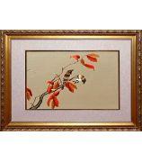 Картина «Две птички на веточке»
