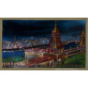 Картина «Вечерняя Москва»