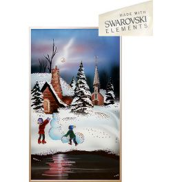 Картина «Зимние забавы»