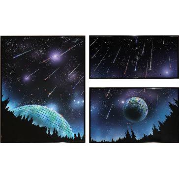 Модульная картина «Звездопад»