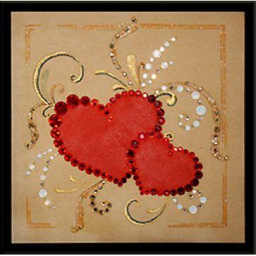 Картина «Любящие сердца»