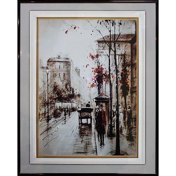 Картина «Прогулка по Лондону»