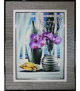 Натюрморт с орхидеями