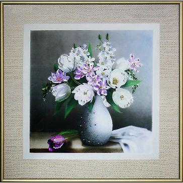Картина «Натюрморт с тюльпанами»