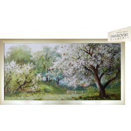 Картина «Цветущий сад»