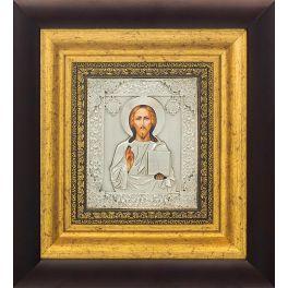 Венчальная пара: икона Казанской Божией Матери и икона «Господь Вседержитель»