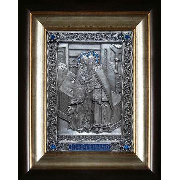 Икона «Святые праведная Елисавета (Елизавета) и пророк Захария»