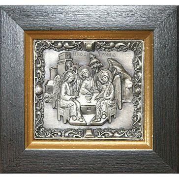 Миниатюрная икона «Троица», 8х7,5 см