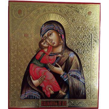 Живописная икона «Божией Матери Владимирская»