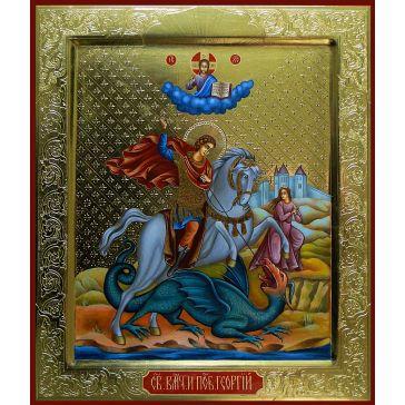 Живописная икона «Святой Георгий Победоносец»
