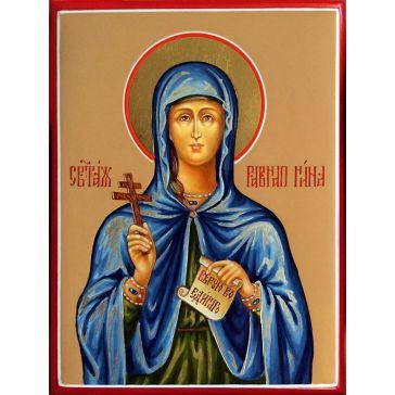 Живописная икона «Святая равноапостольная Нина» на доске