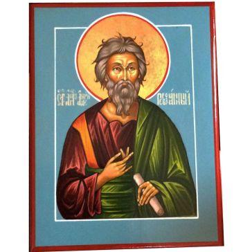 Живописная икона «Святой Апостол Андрей Первозванный» на доске