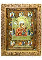 Образ Божией Матери «Тихвинская Хлебенная (Запечная)»
