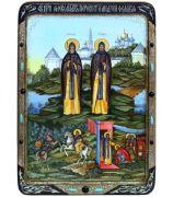 Александр (Пересвет) и Андрей (Ослябя) Радонежские