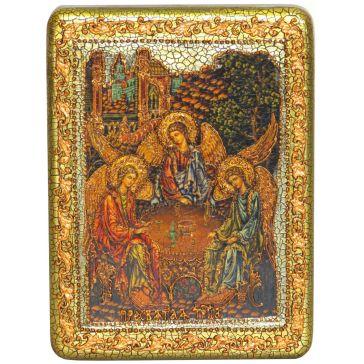 Икона «Троица» на доске