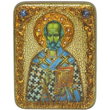 Подарочная икона Николая Чудотворца