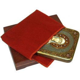 Подарочная икона «Святая Емилия Кесарийская (Каппадокийская)» в подарочной деревянной шкатулке, Россия