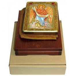 Икона в шкатулке «Архангел Варахиил», размер 15х20 см