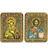 «Владимирская икона Божией Матери» и «Господь Вседержитель»