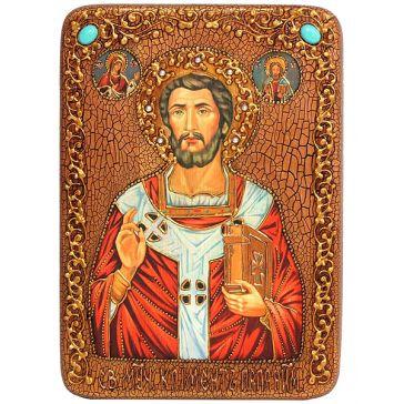 Подарочная икона «Священномученик Климент, папа Римский», производство Россия