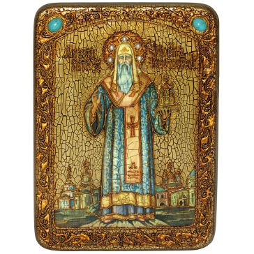 Икона «Святитель Алексий, митрополит Московский и всея России чудотворец»