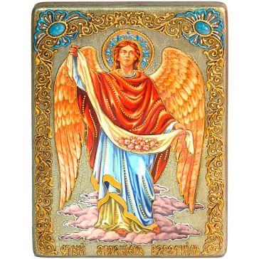 Подарочная икона в шкатулке «Архангел Варахиил», с номерным свидетельством