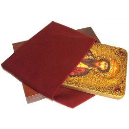 Подарочная икона на морёном дубе «Святой Благоверный князь Вячеслав Чешский»
