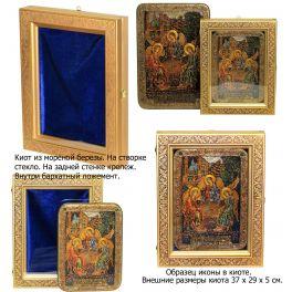 Икона с самоцветами «Святой праотец Адам», производство Россия