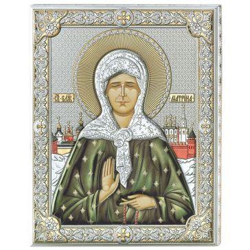 Икона «Блаженная старица Матрона Московская»