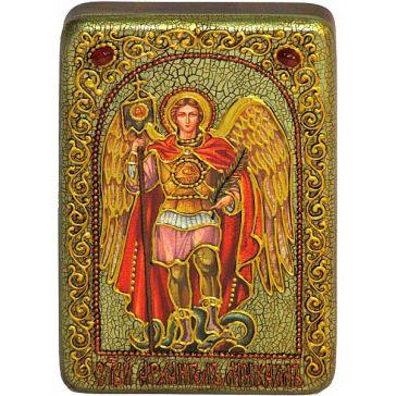 Настольная икона «Архангел Михаил», производство Россия