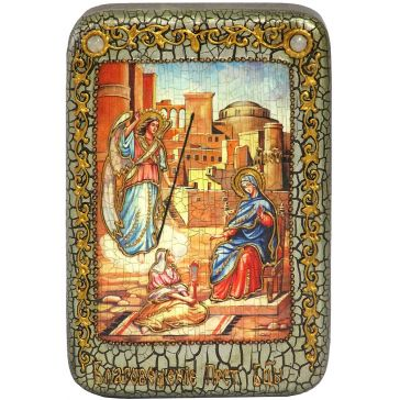 Настольная икона «Благовещение Пресвятой Богородицы»
