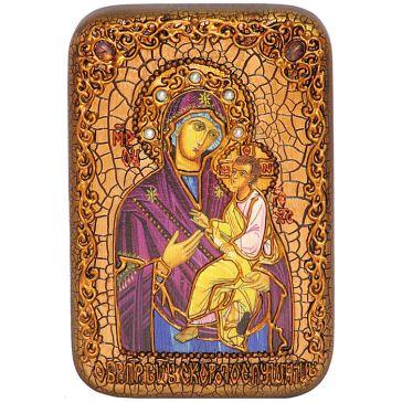 Настольная икона Божией Матери «Скоропослушница», 15х20 см