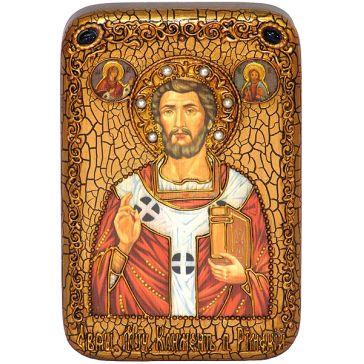 Настольная икона «Священномученик Климент, папа Римский» размером 10х15 см