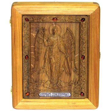 Резная икона «Ангел Хранитель»
