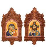 Казанская Богородица и Господь Вседержитель