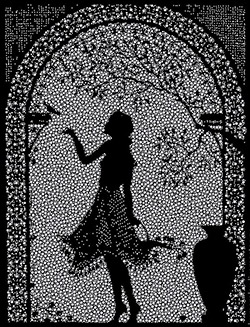 Картина со стразами Сваровски