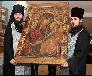 Фото Иверской иконы Божьей матери