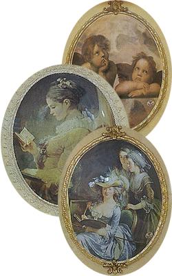 Романтические картины на фарфоре