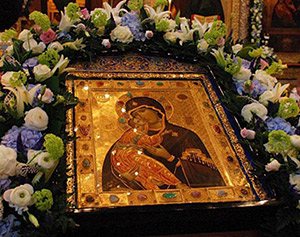 Фото иконы Владимирской Божьей матери