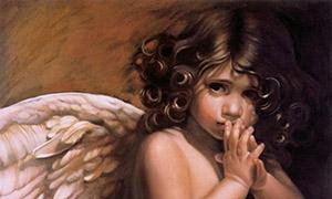 Картины с Ангелом